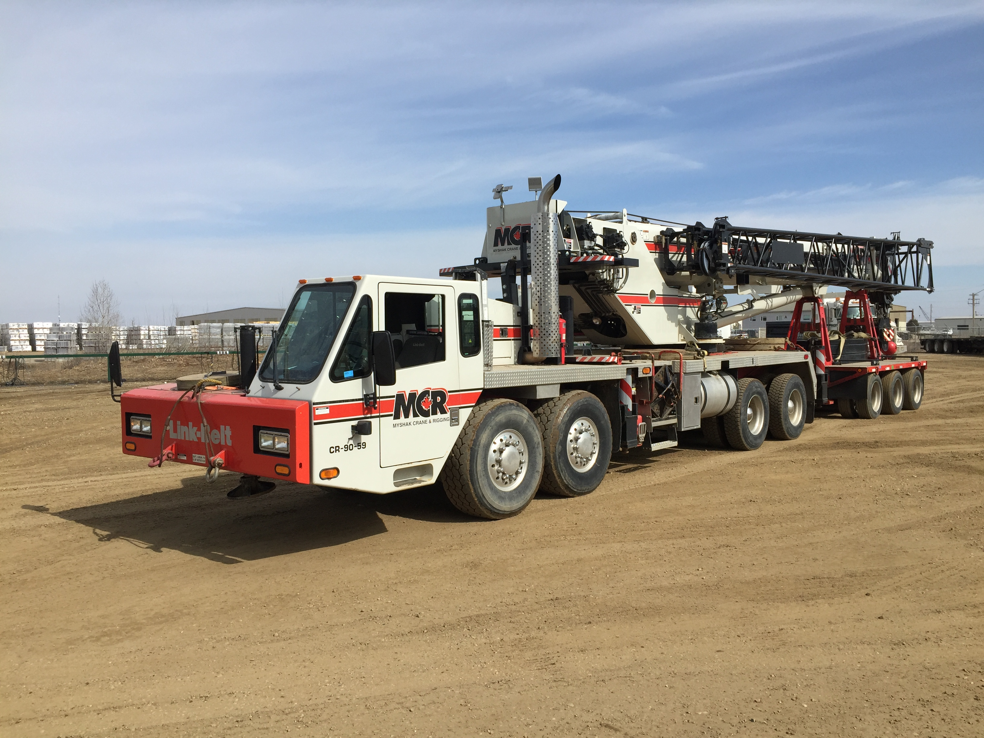 Myshak Crane & Rigging Ltd Now Proudly Offers Crane and Rigging Rentals in Fort St John Area